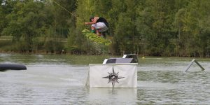 rider, wakeboard et modules, bienvenue à Evasion Cable Park